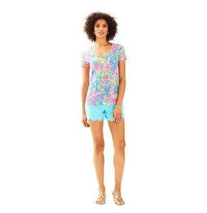 Fansea Pants Lilly Michele short sleeve v-neck